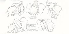 Enjoy The Art of Dumbo with a collection of 40 Original Concept Art Collection. Ridiculed because of his enormous ears, a young circus elephant is assisted