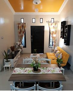 Populer Wall Decor Customized Design - Home Decor Wall Decor Populer Sales Tiny Living Rooms, Living Room Decor Cozy, Home Decor Bedroom, Home Living Room, Living Room Designs, Small House Interior Design, Home Room Design, Indian Home Interior, Small Space