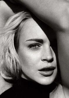 Adrift: Lindsay Lohan by Norman Jean Roy for Vanity Fair