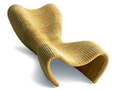 Wicker Lounge 1990 - Idee by Marc Newson Ltd Contemporary Interior Design, Modern Design, Design Art, Best Interior, Interior And Exterior, Exterior Design, Chair Design, Furniture Design, Wicker Lounge Chair