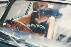 Cintia Dicker for Wildfox Swim