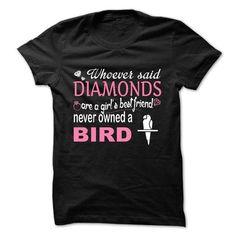 diamond bird T Shirts, Hoodies. Get it now ==► https://www.sunfrog.com/LifeStyle/diamond-bird.html?57074 $24