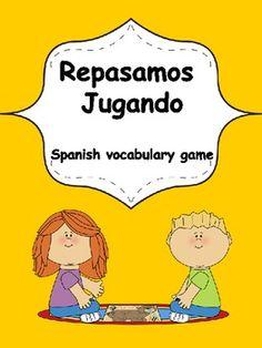 Spanish vocabulary game