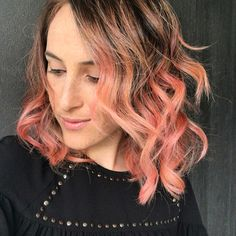 Pink Hair - rose gold hair - capelli rosa - rainbow hair  Hairstylist Roberto Maselli Compagnia della Bellezza Roma  Instagram @theredmoustaches