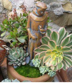 """Sacred Succulent Gardens""Create your own meditation or reflection garden."