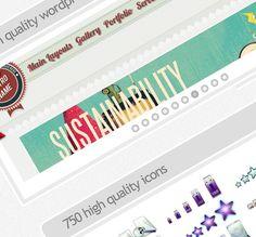 FREE 10 WordPress Templates Plus Tons of Icons!  #wordpress #template #design