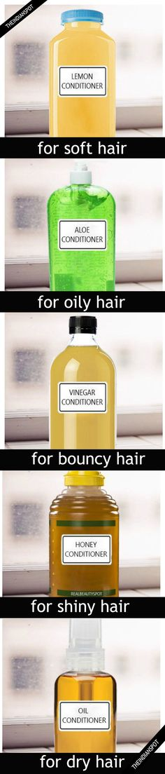 5 Pure DIY Hair Conditioner for All Hair Varieties.... >> Look into more at the picture