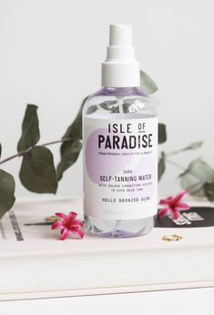Isle of Paradise Tanning Water