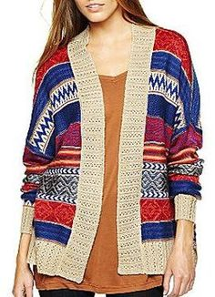 i jeans by Buffalo Aztec Cardigan Sweater at POPSUGAR Shopping