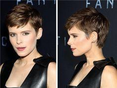 Kate Mara se corta el pelo: del bob al pixie