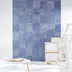 Collection ETNA #wallpanel #panoramique #blue #decoration