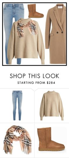 """""""Celebrate Our 10th Polyversary!"""" by christinadrussell ❤ liked on Polyvore featuring Givenchy, The Row, Burberry, UGG, Harris Wharf London, uggs, polyversary, contestentry and camel"""