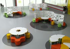 Furniture that is flexible and can addapt to changing layouts. spaceoasis.com