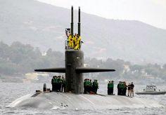 Los Angeles class nuclear attack submarine USS Oklahoma City (SSN 723).