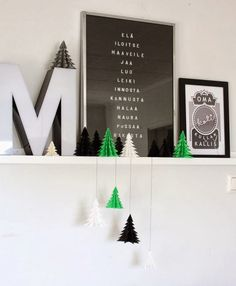 Beautiful Christmas decoration DIY - Via nurin kurin