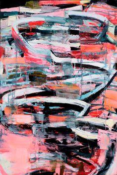 """Saatchi Online Artist: Galen Cheney; Oil, 2012, Painting """"Split"""" #GalenCheney"""