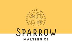 Here's the primary Logo for Sparrow. Excited to watch this brand develop.