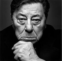 Jeanloup Sieff (1933-2000) - le musicien argentin Atahualpa Yupanqui, Paris, 1983