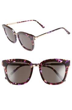 cb006c0655e GENTLE MONSTER BUTTON 54MM ZEISS LENS SUNGLASSES - PURPLE  GOLD.   gentlemonster