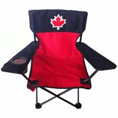 Lounge in style this Day with this Adult Canada Day Camp Chair Canada Day Party, River Trail, Day Camp, Camping Chairs, Home Hardware, Holidays And Events, Special Events, Outdoor Living, Lounge