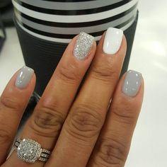 Glitter is so much fun whether we are talking about nails or pretty much anything else for that matter. Here we have found22 Nails That Feature Glitter Because Why Not! Glitter can be the one thing that makes your nails stand out from the crowd.
