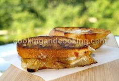 French Onion Sandwich...Good winter recipe with soup!