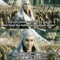 Thranduil the hobbit
