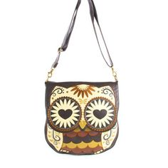 Owl with Heart Eyes Crossbody Bag by Loungefly... absolutely want this bag!