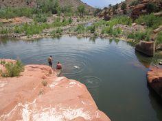Top 10 Things to do in St. George Utah: Gunlock Waterfalls and Pools   Kayenta Utah