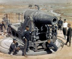 "Artillery position during the 日露戦争 Russo-Japanese War.  ""The Russo-Japanese War (8th February 1904 – 5th September 1905) was ""the first great war of the 20th century."" It grew out of rival imperial ambitions of the Russian Empire and the Empire of Japan over Manchuria and Korea."