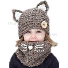Kids Paw Patrouille Chapeau d/'hiver Chase Skye Beanie Chapeau /& Glove Lot garçons filles chaud nouveau