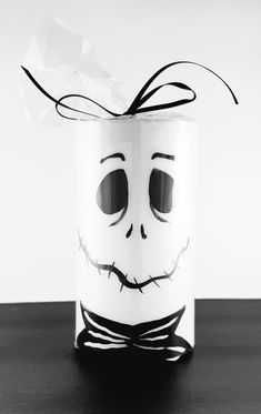 Jack Skellington Inspired LED candles