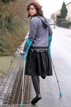 Leg Prosthesis, Short Legs, Ballet Skirt, Lady, Skirts, Fashion, Digital Art, Moda, Skirt