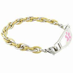 Black Hills Gold Medical Alert Id Bracelets And Pendants