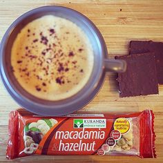 Friday mid-morning 'pick-me-up' snack. Loving our Macadamia & Hazelnut bar. Healthy, fulfilling and delicious. Check out all the nut bar flavours on www.aussiehealthsnax.com.au.  #aussiehealthsnax #glutenfree #nutbars #macadamia #hazelnut #snack #health #healthy #wellness #happyfriday #tgif
