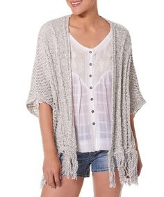 Lace Hem Boho Chic Style Burnout Short Sleeve Knit Blouse Top ...