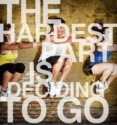 The hardest part is deciding to go - Elämäni Kunnossa | Lily