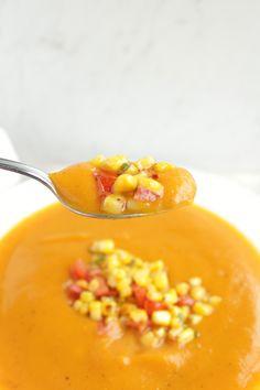 Sweet Potato Soup www.petitfoodie.com