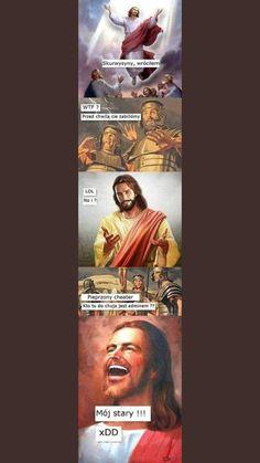 Why Are You Laughing, Polish Memes, Funny Mems, Meme Maker, Dark Memes, Wtf Funny, Best Memes, Haha, Religion