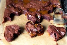 Salted caramel brownies  from Smitten Kitchen Seriously...these are the most delectable brownies you ever will try