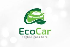 Eco Car Logo Template Templates This logo is great for car shop, car wash, multimedia, lab or any other business---Logo Details:- by gunaonedesign Superhero Logo Templates, Free Logo Templates, Business Brochure, Business Logo, Car Logo Design, Car Logos, Freelance Graphic Design, Photography Logos, Black And White Colour