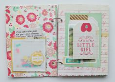 Gallery - mini book - Two Peas in a Bucket
