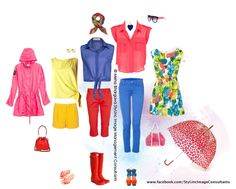Follow us on https://www.facebook.com/Styl.IncImageConsultants    Styl.Inc Style Board :   Shun the gloominess outside, with brights in your garment choices this monsoons.
