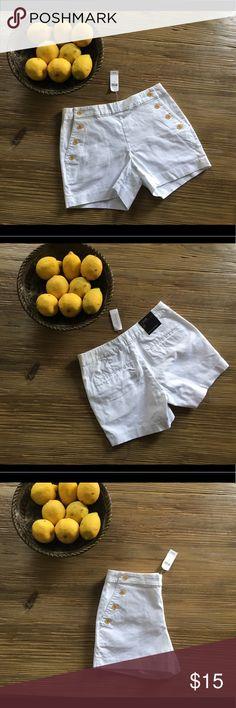 "🆕 Banana Republic Sailor Shorts 4"" size 0 🆕 Banana Republic Sailor Shorts 4"" size 0 Brand New Banana Republic Shorts"