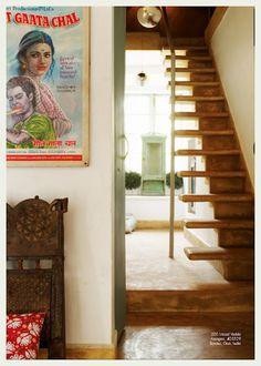 50/50 stairway