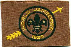 """3rd World Scout Jamboree – 1929 Arrowe Park, Birkenhead, England """"Jamboree of Mud""""' 50,000 Scouts from  69 countries."""