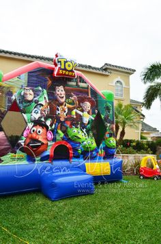 Toy Story Birthday Party Ideas | Photo 1 of 33 | Catch My Party