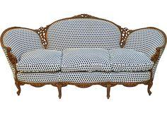 Hand-Carved Italian Sofa on OneKingsLane.com