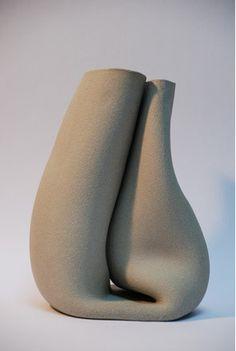 Unlimited edition by Pieke Bergmans & Madieke Fleuren, 2007 (ceramic) Glass Ceramic, Ceramic Clay, Ceramic Bowls, Ceramic Pottery, Pottery Art, Cerámica Ideas, Keramik Design, Sculptures Céramiques, Pottery Techniques