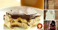 Vynikajúci nepečený dezert na pohodové víkendové popoludnie. Príprava vám zaberie len pár minút! Potrebujeme: Grahamové sušienky  2 bal. vanilkového alebo smotanového pudingu  700 ml mlieka  4 lyžice hnedého cukru  250 ml smotany na šľahanie 33%  Čokoládová poleva:  3 lyžice kakaového prášku  2 lyžice práškového …